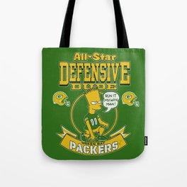 Defensive Dudes - Green Bay Tote Bag