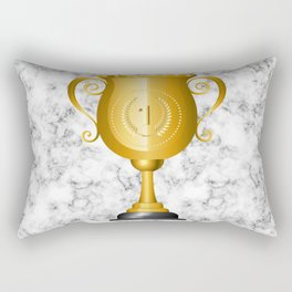 1 Trophy Cup Rectangular Pillow