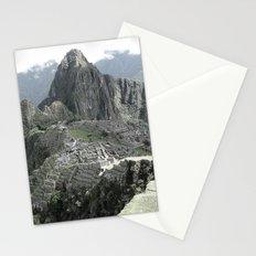 machu picchu Stationery Cards