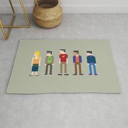 The Big Bang Theory 8-Bit Rug