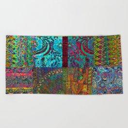 Bohemian Wonderland Beach Towel