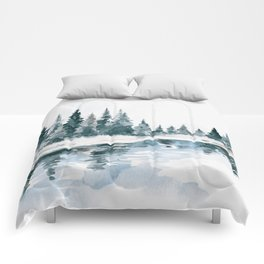 Mountain River Comforters