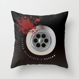 Psycho - Alternative Movie Poster Throw Pillow