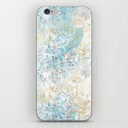 Feather peacock #15 iPhone Skin