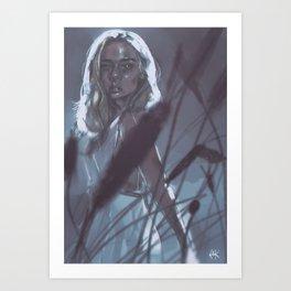 sweet ophelia Art Print
