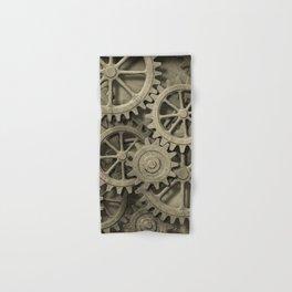 Steampunk Cogwheels Hand & Bath Towel