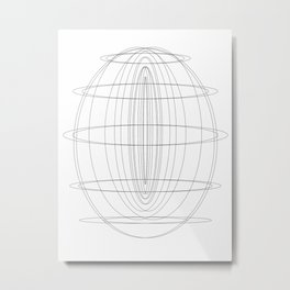 Geo001 Metal Print