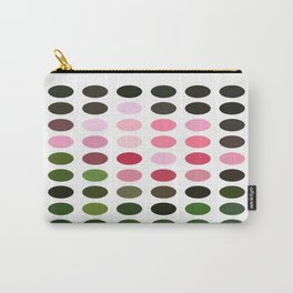 Pink Roses in Anzures 3 Dots Carry-All Pouch