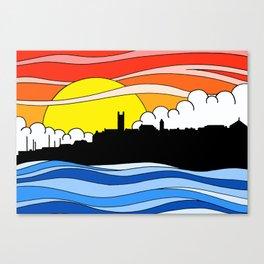 Penzance Skyline Canvas Print