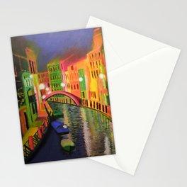 Siskins Venice a la Moi Stationery Cards