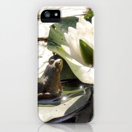 Enchanted Frog iPhone Case