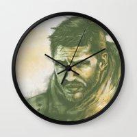 """mad max Wall Clocks featuring Mad Max by Barbara """"Yuhime"""" Wyrowińska"""