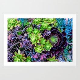 Green Fantasy by Lika Ramati Art Print