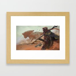 Android Wanderer Framed Art Print