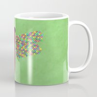 dragonfly Mugs featuring Dragonfly by Artbrightcy