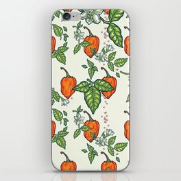 hot habanero iPhone Skin