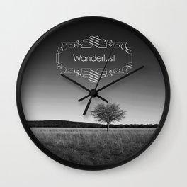 Wanderlust Wall Clock