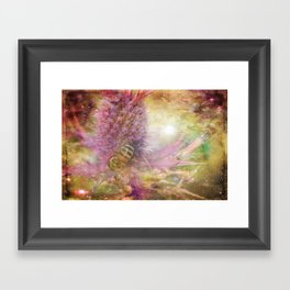 Pollen and Pixie Dust Framed Art Print