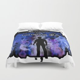 Police Tribute Duvet Cover