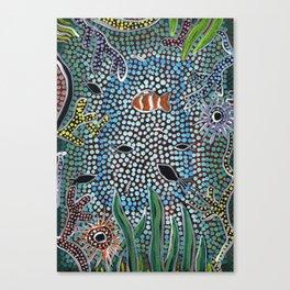 The Reef - Abundance Canvas Print