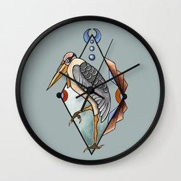 """""""CRANE"""" Wall Clock"""