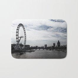 The Thames // London, UK Bath Mat