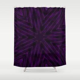 Eggplant Purple Shower Curtain