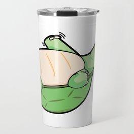 Little Turtle Down! Help Him! Travel Mug