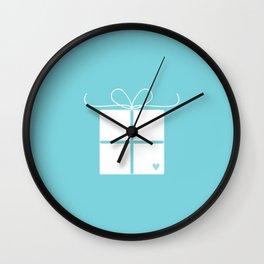 Wedding gift box Wall Clock