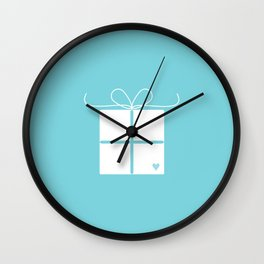 Wedding gift box Wall Clock