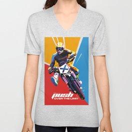 Motocross - Push Over The Limit #2 Unisex V-Neck