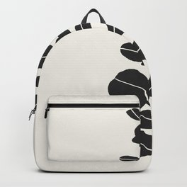 Minimal Eucalyptus Line Art Backpack
