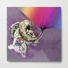 Goat Prism Metal Print