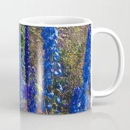 Delphinium Garden Coffee Mug