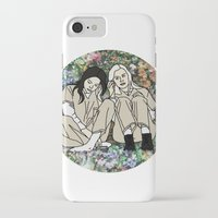 oitnb iPhone & iPod Cases featuring OITNB Floral by MODERN UNDERGROUND
