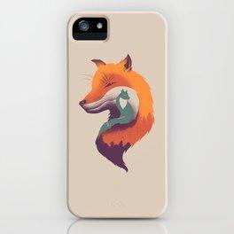 Foxy Breeze iPhone Case
