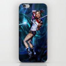 Magic trouble Harley Queen iPhone Skin