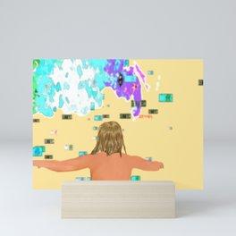 Olympic cash storm Mini Art Print