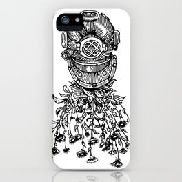 Daisy Diver iPhone Case