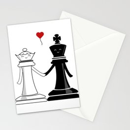 Chess love #3 Stationery Cards