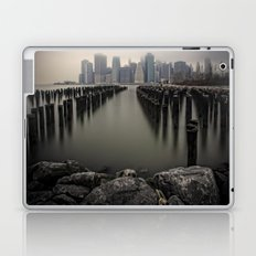 Misty Manhattan Morning Laptop & iPad Skin
