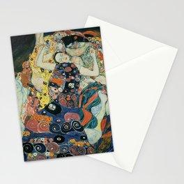 Klimt -The Maiden Stationery Cards