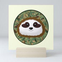 Simon the Sloth Mini Art Print