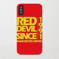manchester iPhone & iPod Cases featuring Since Manchester by Sport_Designs