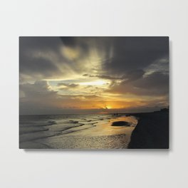 Sanibel Sunset Metal Print