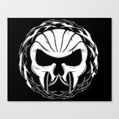 Skull Head Three Canvas Print
