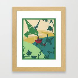 Wine Can Be Sweet Framed Art Print