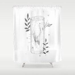 tree of life 3 Shower Curtain