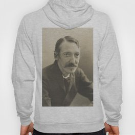 Vintage Robert Louis Stevenson Photo Portrait Hoody