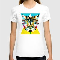 wolves T-shirts featuring wolves by Alvaro Tapia Hidalgo